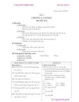 giáo án vật lý 6 hay năm học 2009-2010 (2 cột)