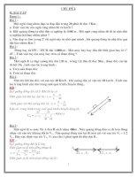 tài liệu ôn tập chương cơ học - vật lí 8