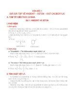 Lý thuyết + Bài tập phần andehit_Axeton_Axitcacbonxylic