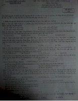 Hóa chuyên ng huệ lần 4 2013 (đề k có đáp án) mã 132
