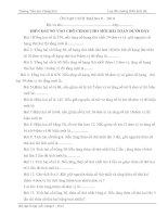 20 câu hỏi trắc nghiệm toán 3(HSG)