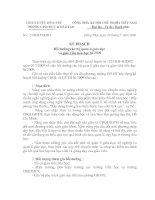 27/KH-PGDĐT Kế hoạch bồi dưỡng CBQLGD và GVTH hè 2009