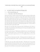 CHÍNH SÁCH THUẾ ĐỐI VỚI SỰ PHÁT TRIỂN THỊ TRƯỜNG BẤT ĐỘNG SẢN