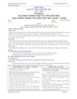 Giao an Lich su 12- chuan- THE NGUYEN