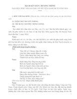 Kịch bản Đại hội cháu ngoan Bác Hồ