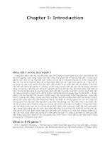 Căn bản về thiết kế và lập trình Game - Introduction