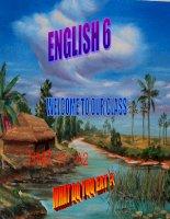 English 6 UNIT 11- A2