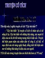 Tiết 34 ÔNG LÃO ĐÁNH CÁ VÀ CON CÁ VÀNG