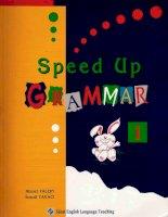 Speed up grammar