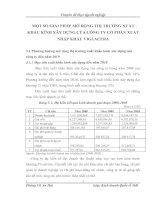 MỘT SỐ GIẢI PHÁP MỞ RỘNG THỊ TRƯỜNG XUẤT KHẨU KÍNH XÂY DỰNG CỦA CÔNG TY CỔ PHẦN XUẤT NHẬP KHẨU VIGLACERA