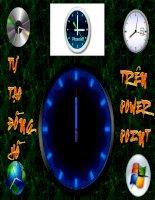 Tự tạo đồng hồ trên PP