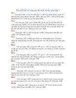 10 BÀI TẬP VỀ TÍNH SĐ GÓC - HH7