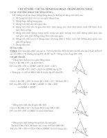 Chuyên đề BDHSG Lớp 8