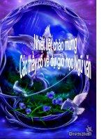 BÀI GIẢNG VỀ DANH TỪ LỚP 6
