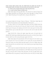 THỰC TRẠNG CHẤT LƯỢNG CÔNG TÁC THẨM ĐỊNH TÀI CHÍNH DỰ ÁN ĐẦU TƯ TRONG HOẠT ĐỘNG TÍN DỤNG CỦA NGÂN HÀNG NGOẠI THƯƠNG VIỆT NAM