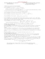 KÌ THI THỬ TUYỂN SINH ĐẠI HỌC NĂM 2013 Đề thi thử lần 1 Môn: TOÁN; Khối A và A1