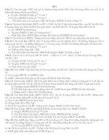 Bài tập Hình 8 Chọn lọc(cả 2 học kì)