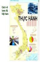 Vẽ lược đồ Việt Nam