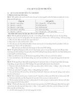 tổng hợp và phân dạng bài tập di truyền của Menđen.