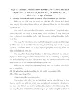 MỘT SỐ GIẢI PHÁP MARKETING NHẰM TĂNG CƯỜNG THU HÚT THỊ TRƯỜNG KHÁCH SỬ DỤNG DỊCH VỤ ĂN UỐNG TẠI NHÀ HÀNG KHÁCH SẠN BẢO SƠN