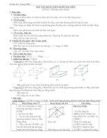 Bài tập khái niệm về khối đa điện
