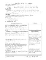 bài soạn tin học lớp 8 tiết 1 đến 20
