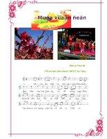 Bài hát dân ca: Mùa xuân đến