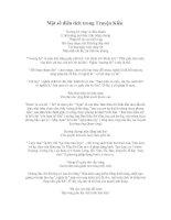 Một số điển tích trong truyện Kiều
