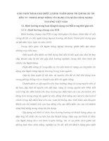 GIẢI PHÁP NÂNG CAO CHẤT LƯỢNG THẨM ĐỊNH TÀI CHÍNH DỰ ÁN ĐẦU TƯ TRONG HOẠT ĐỘNG TÍN DỤNG CỦA NGÂN HÀNG NGOẠI THƯƠNG VIỆT NAM