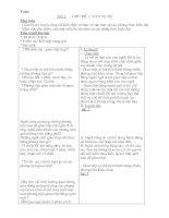 Giáo án tự chọn Ngữ văn 6 (TK)