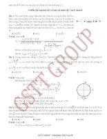 200 bài tập vật lý hay khó phần 1 GSTT VN