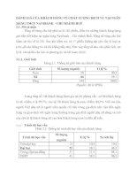 ĐÁNH GIÁ CỦA KHÁCH HÀNG VỀ CHẤT LƯỢNG DỊCH VỤ TẠI NGÂN HÀNG TMCP NAVIBANK