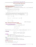 chuyên đề LTDH_ hệ PT đại số