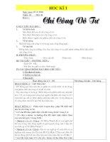 Giáo án GDCD 9 từ tiết 1 - tiết 11