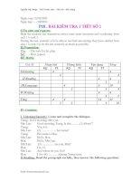 E.6 ĐỀ-ĐA TEST N01. HKI(10-11)