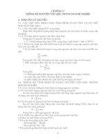 giáo trình thống kê doanh nghiệp chương  5,6,7