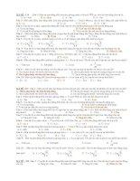 Đề kiểm tra 15 phut.VL 12(4ma đề)