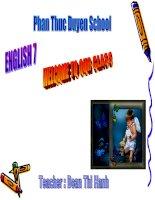 English 7 UINT ONE B1,2,3