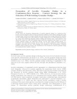 Formation of Aerobic Granular Sludge in a Continuous-Flow Reactor – Control Strategy for the Selection of Well-Settling Granular Sludge