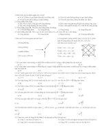 60 câu hỏi trắc nghiệm Hình 10 ( chương 1)