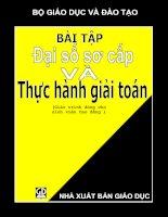 bai tap dai so so cap va thuc hanh giai toan