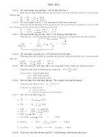 đề cương ôn thi HKII môn hóa học