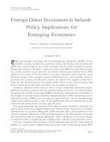 đâu tư FDI vào Ireland