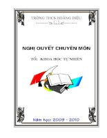 Mẫu bìa giáo án đẹp 2009- 2010