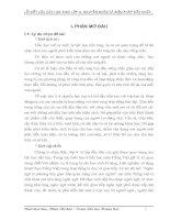 SKKN: Lỗi viết câu của HS lớp 4 nguyên nhân và BP sửa chữa