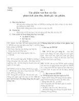 Giáo án tự chọn ngữ văn  7