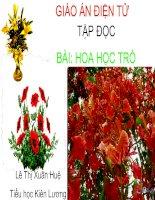 Bai Hoa hoc tro