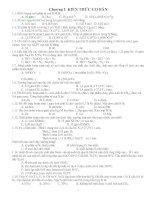 Bài tập tổng hợp hóa THPT
