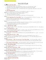 Các dạng BT về pH trong đề thi ĐH