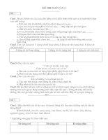Ôn tập hè ngữ văn 7